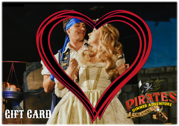 Pirates Dinner Adventure Gift Cards